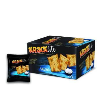 Kracklite Toasted Chips - Salted 12x26g