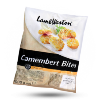 Lambweston Camembert Bites 1X1kg
