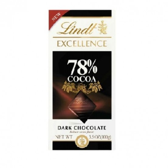 Lindt Excellence Bars Dark 78% Cocoa 1x100gm