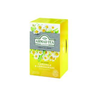 Ahmad Tea Camomile + Lemongrass Alufoil 1x20 Tea Bag
