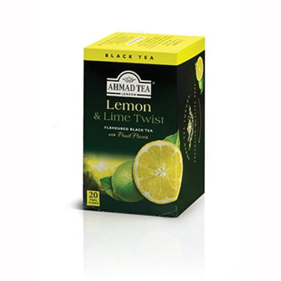 Ahmad Tea Alu T/b Lemon & Lime Twist 1x20 Tea Bag