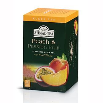 Ahmad Tea Alu T/b Peach & Passion Fruit 1x20 Tea Bag