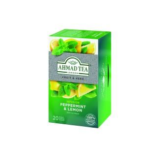 Ahmad Tea Pepper Mint & Lemon Alufoil 1x20 Tea Bag