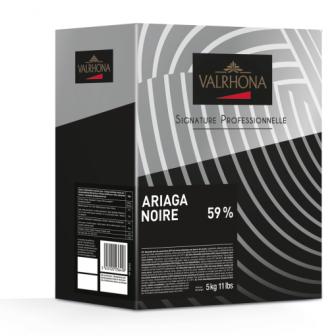 Valrhona Ariaga Noire 59% 1X5kg