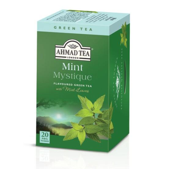 Ahmad Tea Alu T/b Mint Green Tea 1x20 Tea Bag