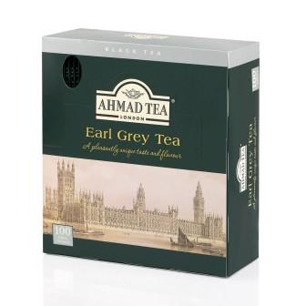Ahmad Tea Alu T/b Earl Grey 1x100 Tea Bag