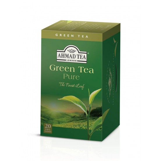Ahmad Tea Alu T/b Green Tea 1x20 Tea Bag