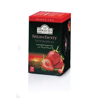Ahmad Tea Alu T/b Strawberry Sentation 1x20 Tea Bag
