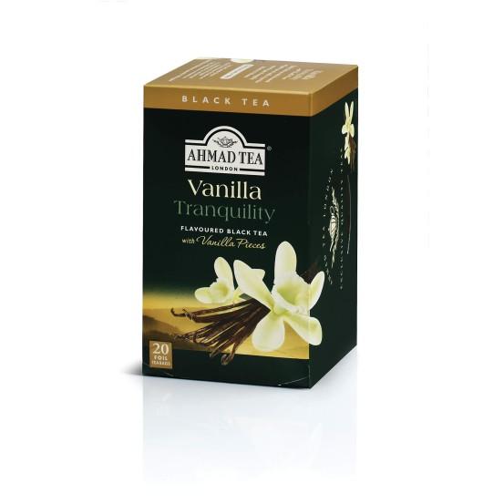 Ahmad Tea Alu T/b Vanilla 1x20 Tea Bag
