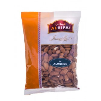 Al Rifai Raw Almonds 1 X400 Gm