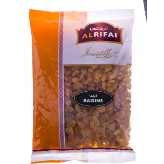 Al Rifai Raw Raisins Golden Iranian 1 X400gm