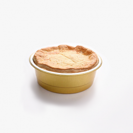 Individual Steak and Vegetables Pie per 4 servings