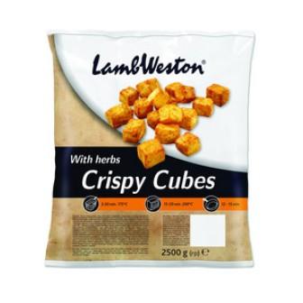 Lamb Weston Crispy Cubes Herbs 1X2.5kg