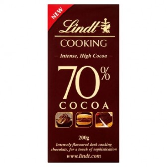 Lindt Cooking 70& Cocoa 1X180gm