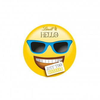 """Lindt Hello Emoti """"just Too Cool"""" 1 X30g"""
