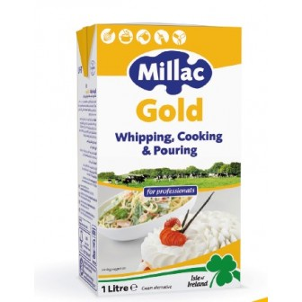 Millac Gold Cream 1x1 Ltr