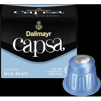 DALLMAYR COFFEE CAPSULES LUNGO MILD ROAST 1X10 Capsules
