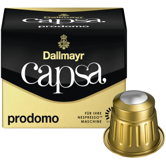 DALLMAYR COFFEE CAPSULES PRODOMO 1x10 Capsules