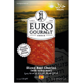 Sliced Beef Chorizo 1x130Gm