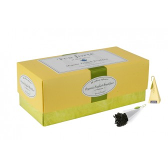 Tea Forte Ribbon Box English Breakfast  1x40pcs