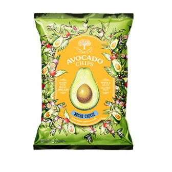 Temole Avocado Chips-Nacho Chips 1X40gm