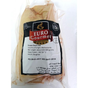Duck Liver Foie Gras (frozen) Ave. Weight 700gm