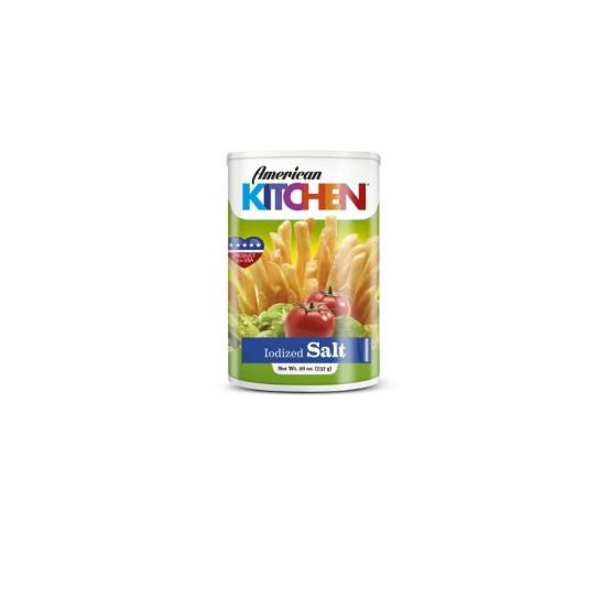 American Kitchen's Iodized Salt 1X26oz