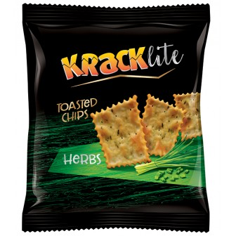Kracklite Toasted Chips Herbs 1X110 Gm