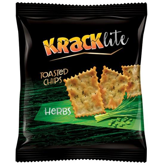 Kracklite Toasted Chips Herbs 1X110 Gm