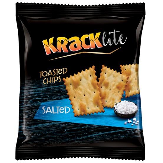 Kracklite Toasted Chips Salted 1X110gm