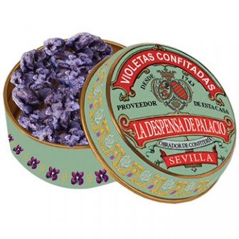 Candied Violets Tin 1x15gm