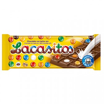 Lacasitos Milk Bar 1x75 Gm