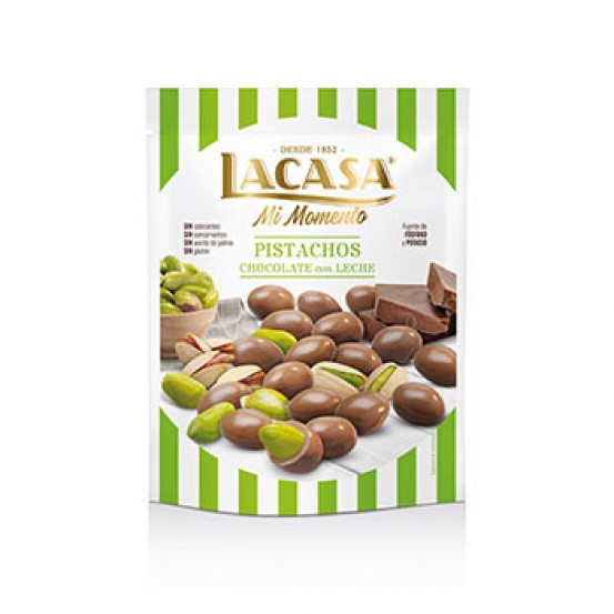 Milk Chocolate Coated Pistachio 1X125gm