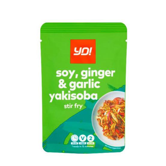 Yo! Soy, Ginger & Garlic Yakisoba 1x100Gm