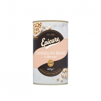 Epicure Organic Cannelline Beans in Water 1x400Gm