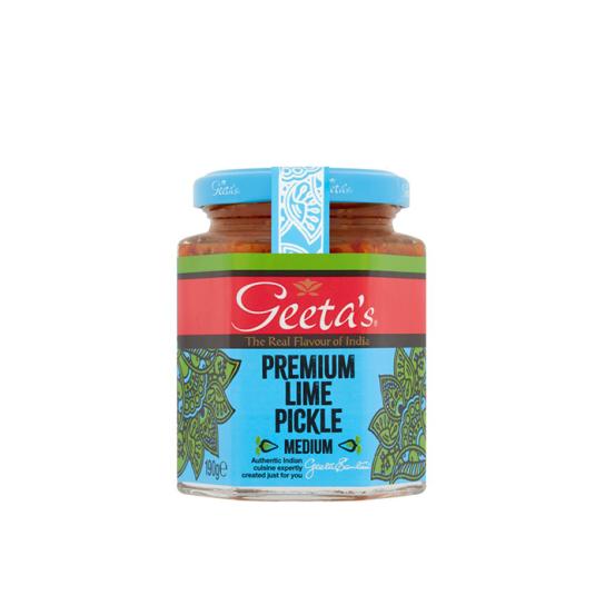 Geeta's Premium Lime Pickle 1x190Gm