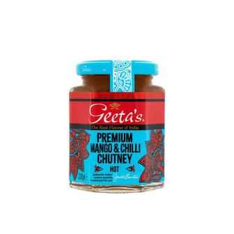 Geeta's Premium Mango  & Chili Chutney 1x230Gm