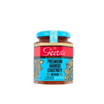 Geeta's Premium Mango Chutney 1x230Gm