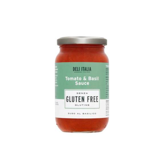 Deli italia Tomato & Basic Sauce 1x350Gm