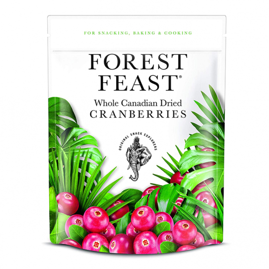 Forest Feast Whole Canadian Dried Cranberries 1x170Gm