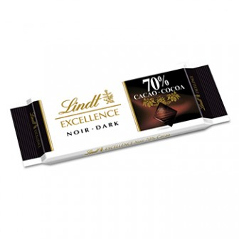 Lindt Excellence Bars Dark Mini 70% Cocoa 1X35gm