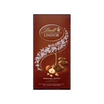Lindt Lindor Singles Hazelnut 1X100g