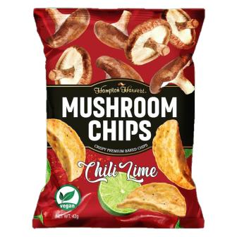 Hampton Harvest Mushroom Chili Lime 1x42Gm