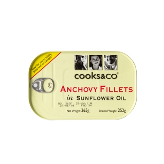 Anchovy Fillets 1x365gm