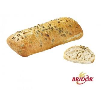 Bridor Organic Spelt Loaf W/ Squash Sesame Seeds 16X450gm
