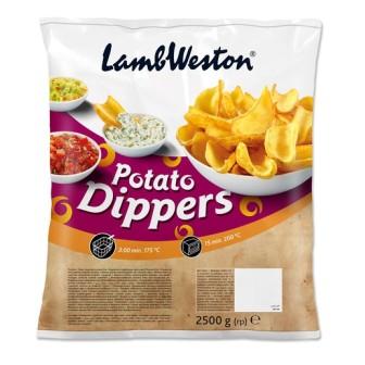 Lamb Weston Potato Dippers 1X2.5kg