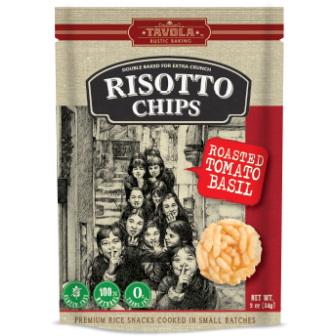 Risotto Chips - Roasted Tomato Basil 1X84gm