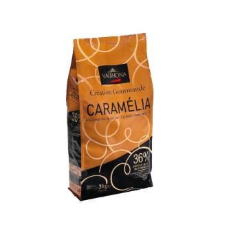 Valrhona Caramelia Lactee 36% Coins 1X3kg