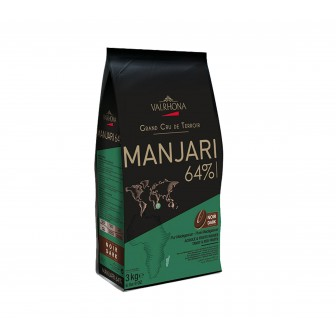 Valrhona Manjari Noir 64% Coins 1X3kg