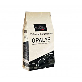Valrhona Opalys White 33% Coins 1X3kg